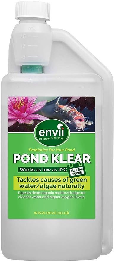 Envii Pond Klear - Tratamiento para agua verde Mejora la claridad del agua incluso a 4