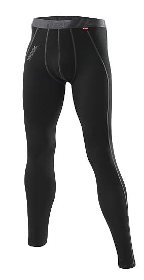 Löffler - Ropa interior deportiva para hombre, talla 46, color negro