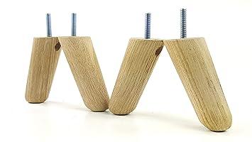 4 X Ersatz Möbel Beine Massivholz Möbel Fuß Für Sofas Stühle Sofas