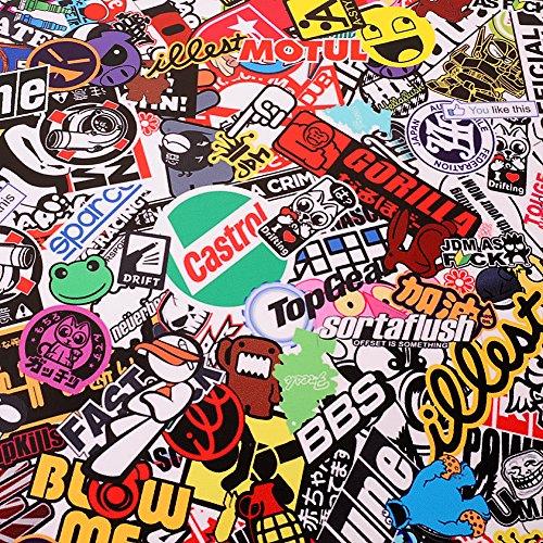 """Graffiti JDM Bomb Car Auto Wrap 20/""""x30/"""" Decal Waterproof Vinyl Sticker HOT"""