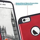 ULAK iPhone 6S Case,iPhone 6 Case, Slim Fit Dual