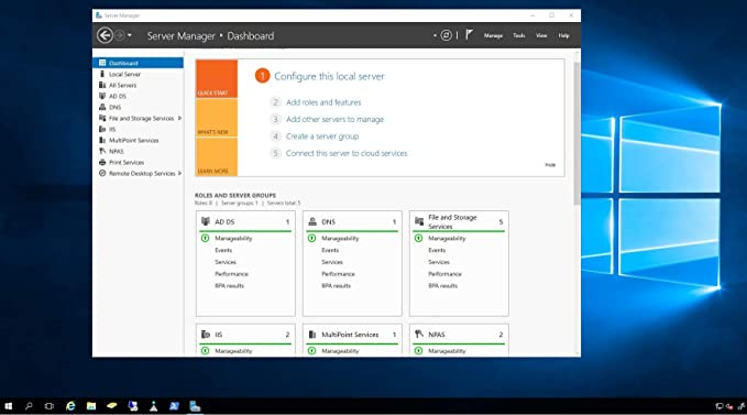 Windows Server 2016 Standard OEM English DVD | Windows 10 Server