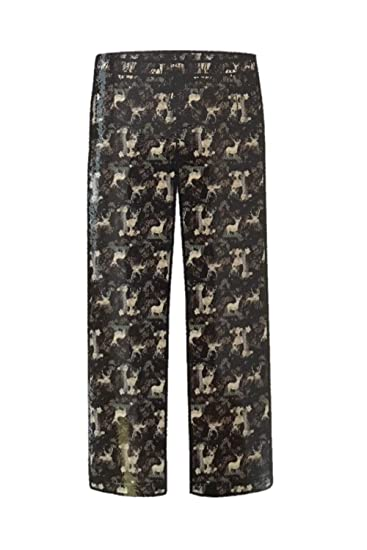 9a1caacc0e Image Unavailable. Image not available for. Color  Arctic Trail Trading Men s  Flannel Pajama Pant - Deer ...