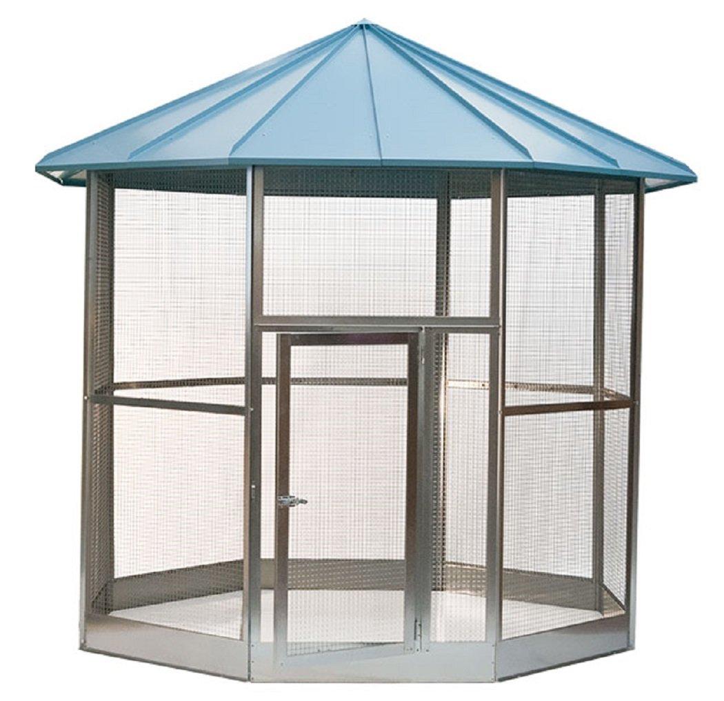Aviary / Bird Cage, XXXL, Professional, Octagonal: Amazon.co.uk ...