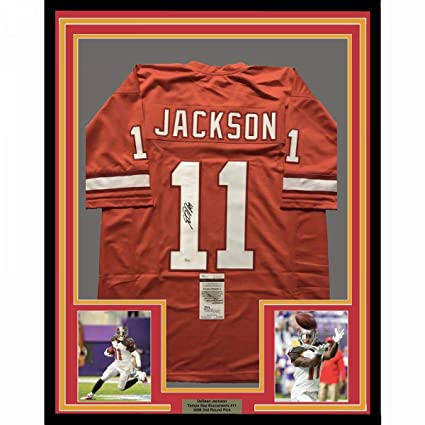 factory authentic 4c50c aa99d Framed Autographed/Signed DeSean Jackson 33x42 Tampa Bay ...