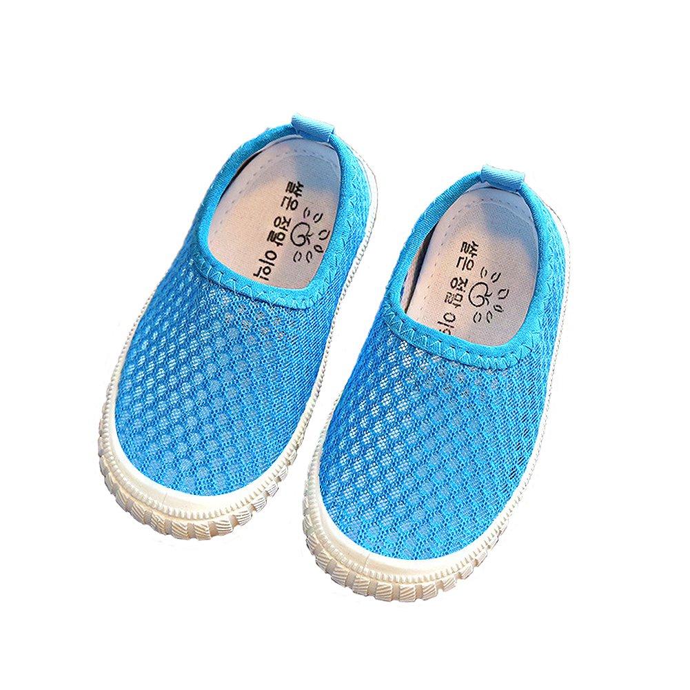 Eagsouni® Kinder Aquaschuhe Breathable Ineinander Schwimmschuh Weiche Sohlen Wasserschuhe Surfschuhe