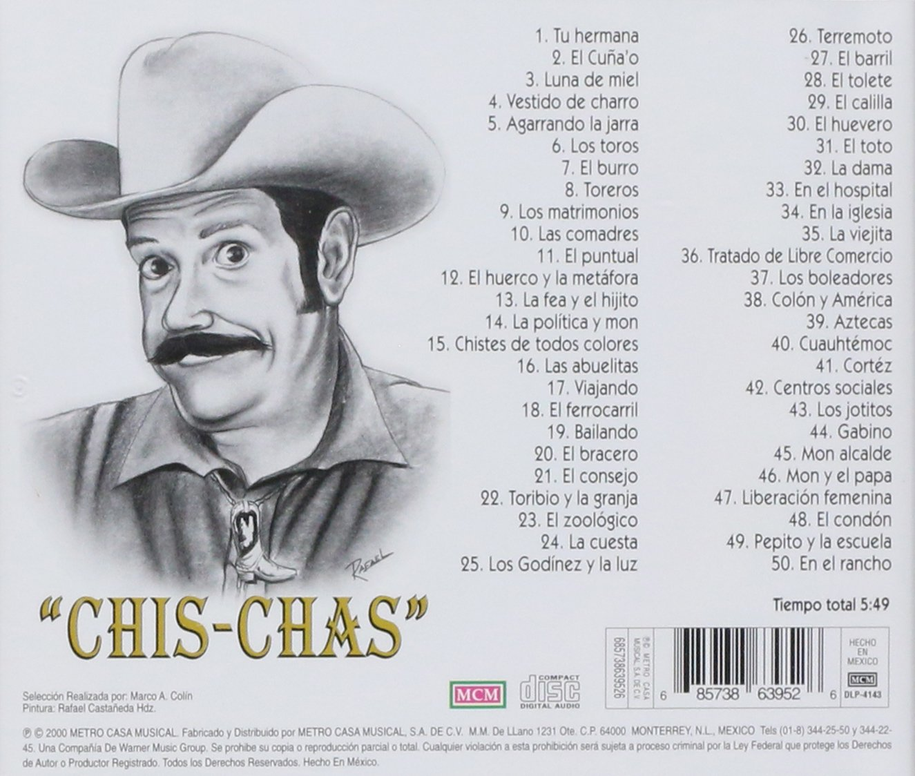 Jesus Gonzalez, Jesus Gonsales. Chi-Chas - Jusus Gonzalez