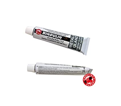 Pasta de pulir metales y plata de color blanco con cloruro de amonio ideal para la limpieza y cuidado de armas, de carburo, por ejemplo, de metales ...