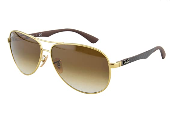 Ray-Ban Men\u0026#39;s Carbon Fibre Aviator Sunglasses, Arista, ...