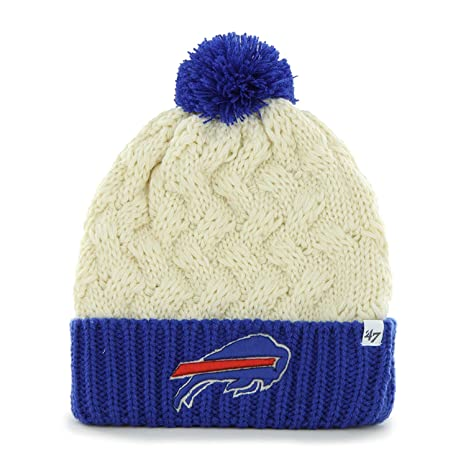 0daac3c8 '47 Buffalo Bills Women's 2-Tone Matterhorn Beanie Hat with Pom - NFL Ladies