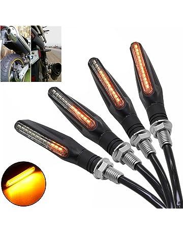 MZS Motorcycle Turn Signal Indicator Blinker Light Lamp Universal for Honda GROM MSX125 CBR 600RR 1000RR