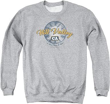 Logo Adult Crewneck Sweatshirt Back To The Future