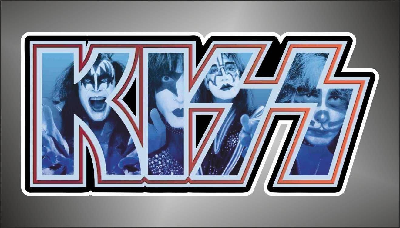 Sticker The Kiss hip hop rap jazz hard rock pop funk sticker Aufkleber