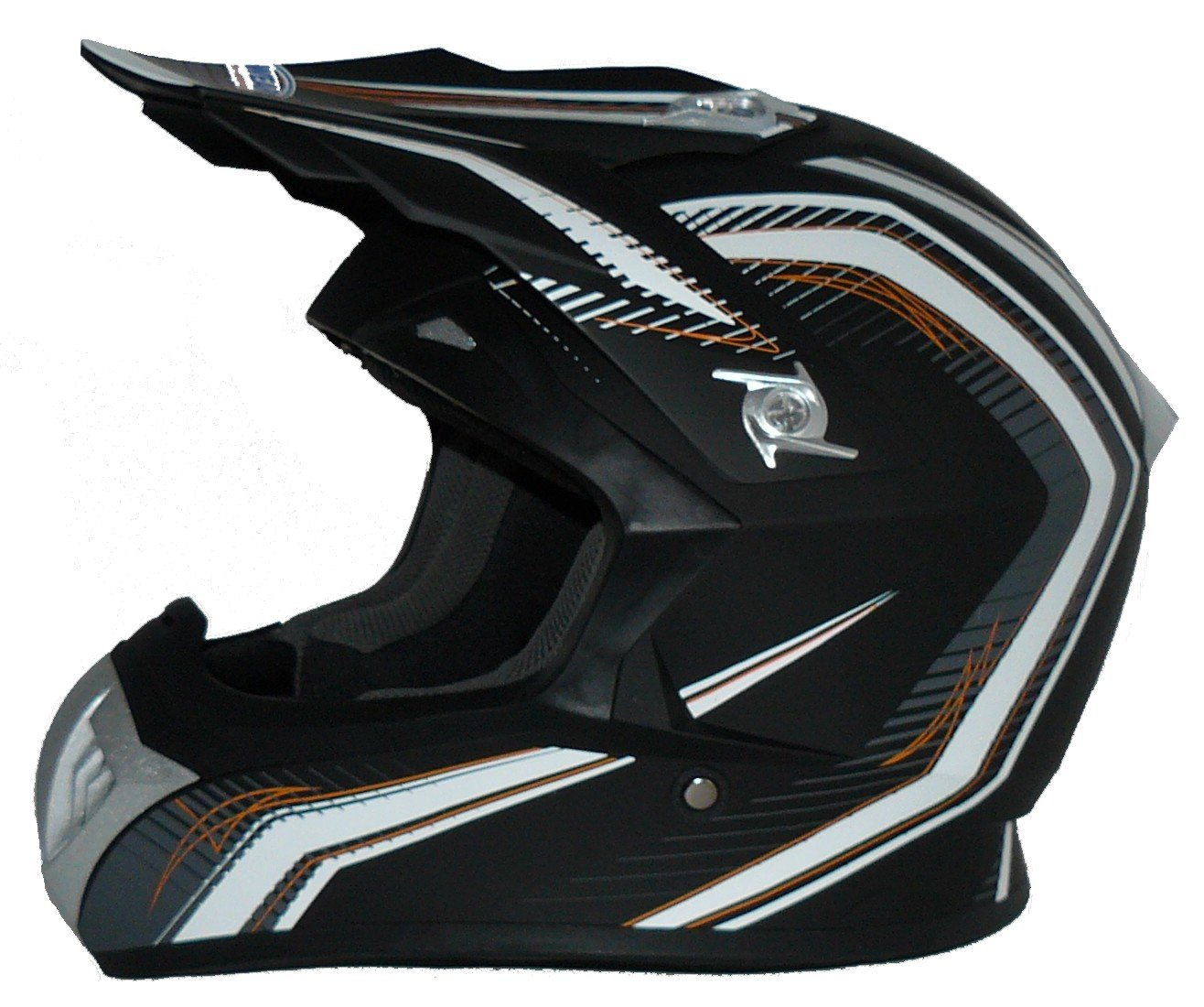Amazon.es: Protectwear Casco de cross / Enduro naranja-negro FS603-OR Tamaño M