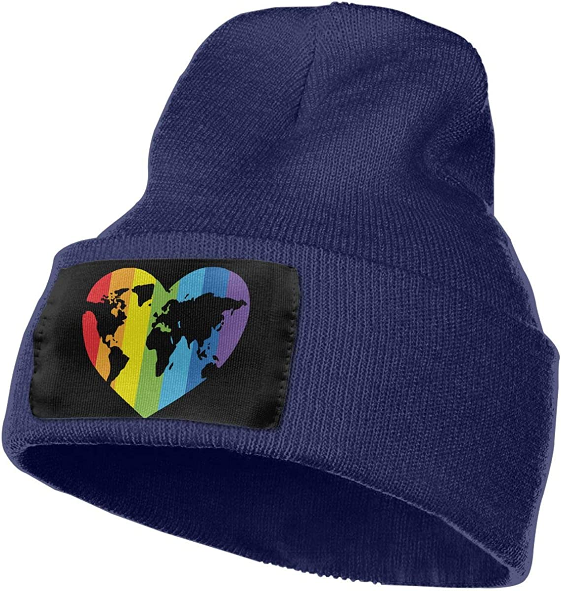 WHOO93@Y Mens and Womens 100/% Acrylic Knitting Hat Cap Gay Pride Fashion Skull Beanie