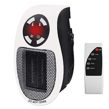 500w Heizung Elektroheizer Steckdosen Heizlüfter Heizgerät heater Heizlüfter