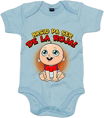 Body bebé nacido para ser de La Roja España fútbol - Amarillo, 6-12 meses: Amazon.es: Bebé