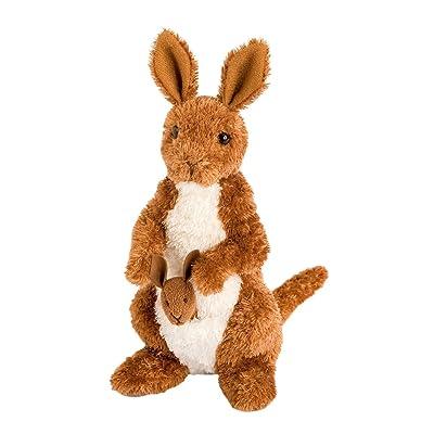 Douglas Melbourne Kangaroo Plush Stuffed Animal: Toys & Games