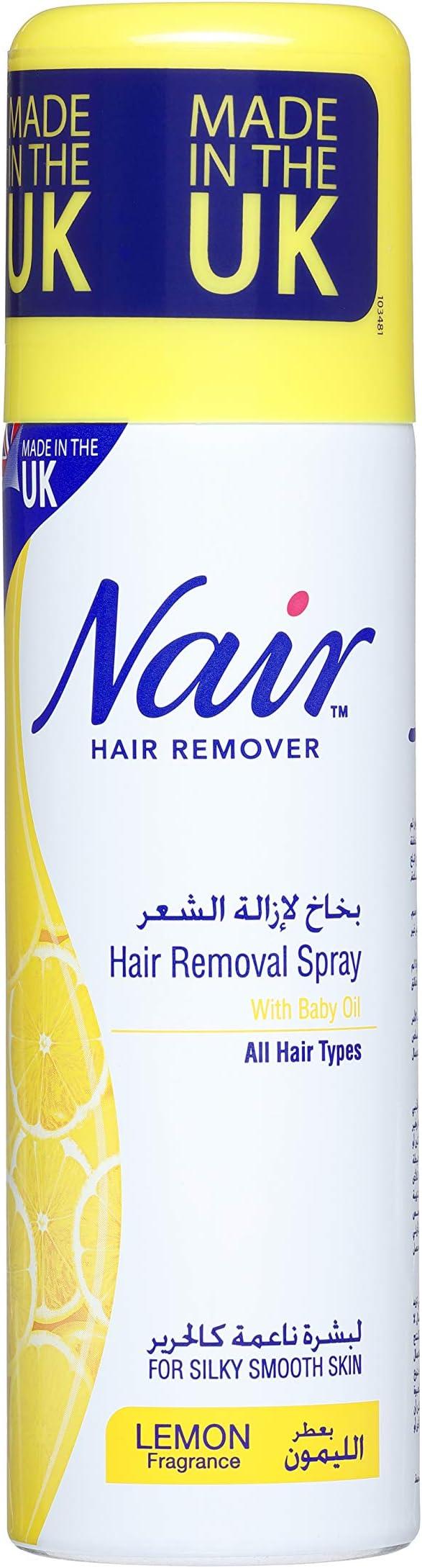Nair Hair Remover Spray Lemon Fragrance 200 Ml Price In Uae
