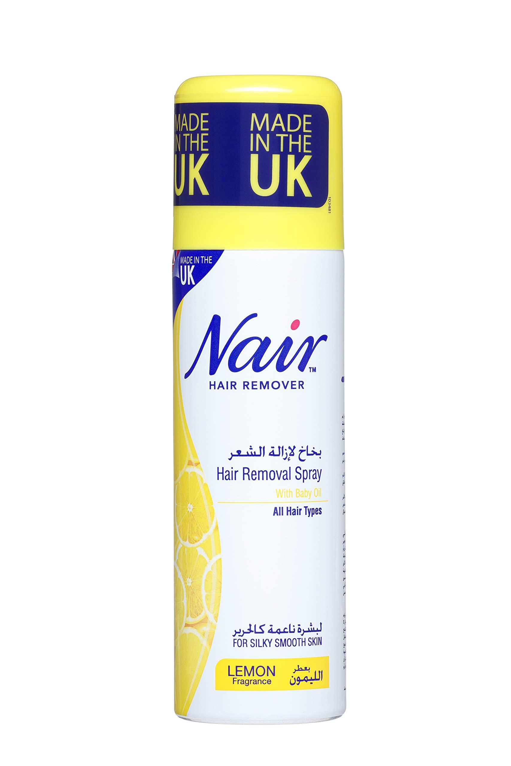 Nair Hair Removal Spray 200ml Lemon Buy Online In Gibraltar