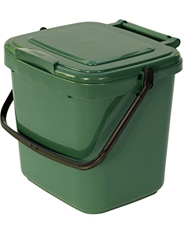 All-Green VC 7L-Green-Caddy - Cubo para compost