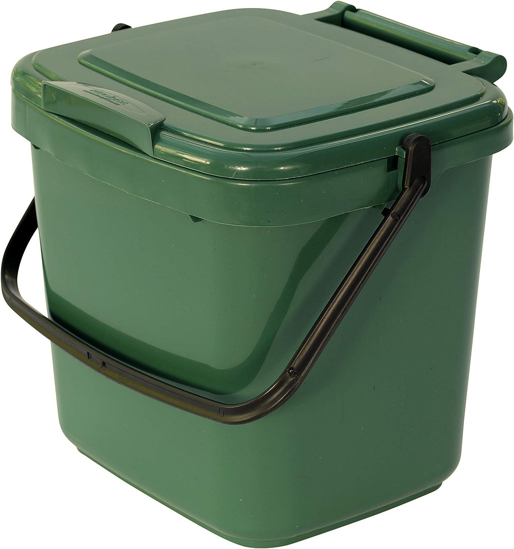 All-Green VC 7L-Green-Caddy - Cubo para Compost: Amazon.es: Hogar