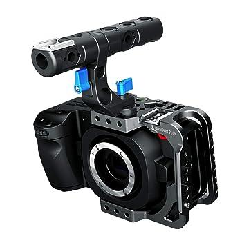 Kondor Blue BMPCC 4K media jaula para cámara de cine de bolsillo ...