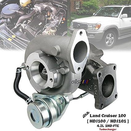 Amazon.com: Turbo Turbocharger For Toyota Land Cruiser 100 HDJ100 1HD-FTE CT26B 17201-17040: Automotive