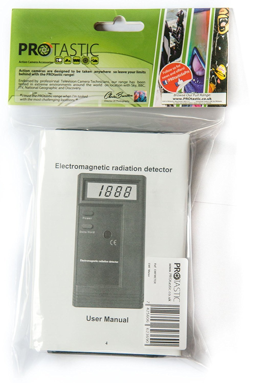 PROtastic EMF Meter extra sensible para & Paranormal fantasma caza Electro Magnetic radiation detector: Amazon.es: Bricolaje y herramientas