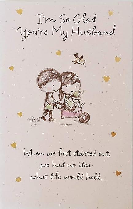Amazon com : I'm So Glad You're My Husband - Happy