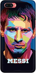 Stylizedd Oppo A3s Slim Snap Basic Case Cover Matte Finish - Poly Messi