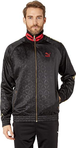 Amazon.com: PUMA Luxe Pack Track Jacket AOP - Chaqueta para ...