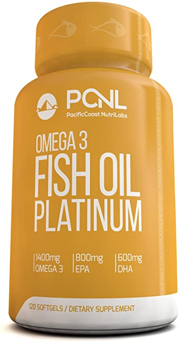 Product thumbnail for Pacific Coast Nutrilabs Omega 3 Fish Oil Supplement