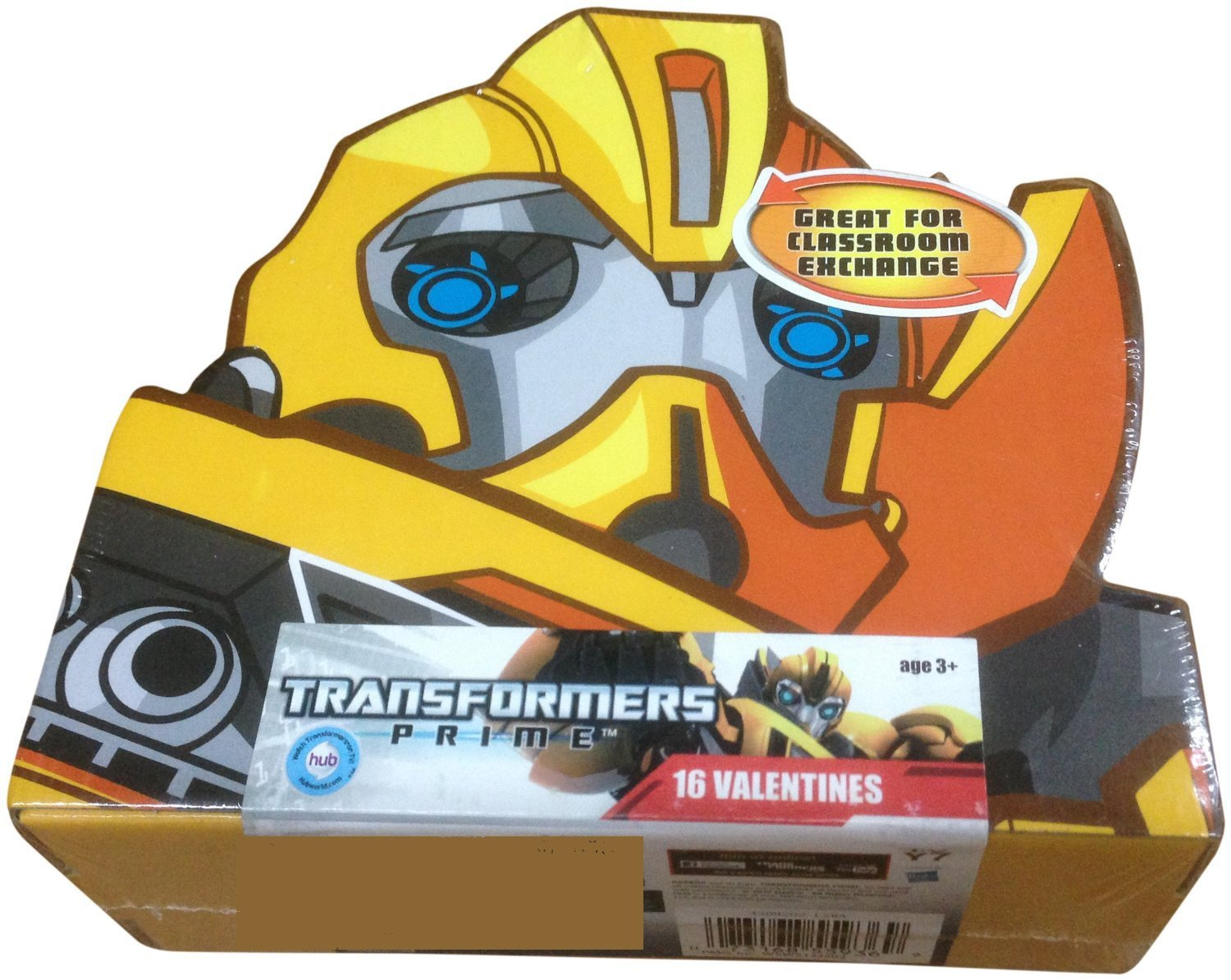 Amazon.com : Valentines Day Cards 16 Pack   Transformers Prime By Paper  Magic Group : Office Products