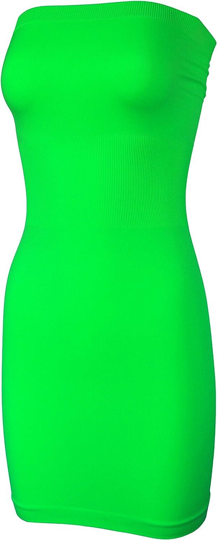 KMystic Seamless Strapless Tube Slip Dress