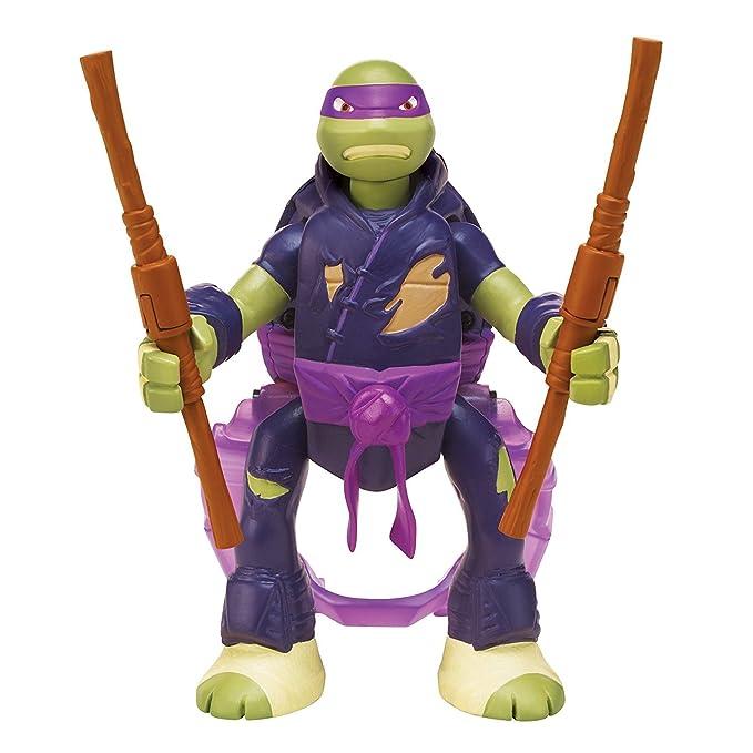 Playmates Tortugas Ninja - Donatello Throw N Batalla: Amazon ...