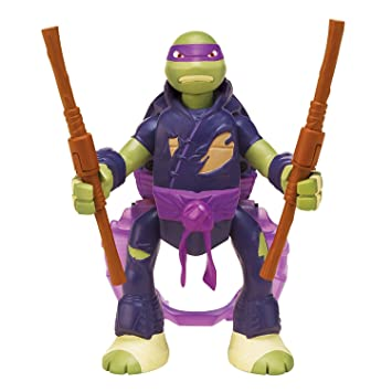 Playmates Tortugas Ninja - Donatello Throw N Batalla: Amazon ...