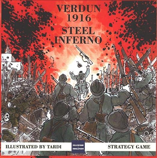 Strategic Wargame Verdun 1916 - Steel Inferno: Amazon.es: Juguetes y juegos
