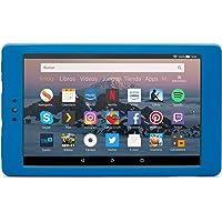NuPro Funda resistente a los golpes para el tablet Fire HD 8, color azul