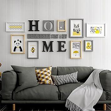 bilderrahmen collage fotorahmen collage foto wand luxus wohnzimmer minimalistischen kreative holz bilderrahmen urlaub geschenke farbe