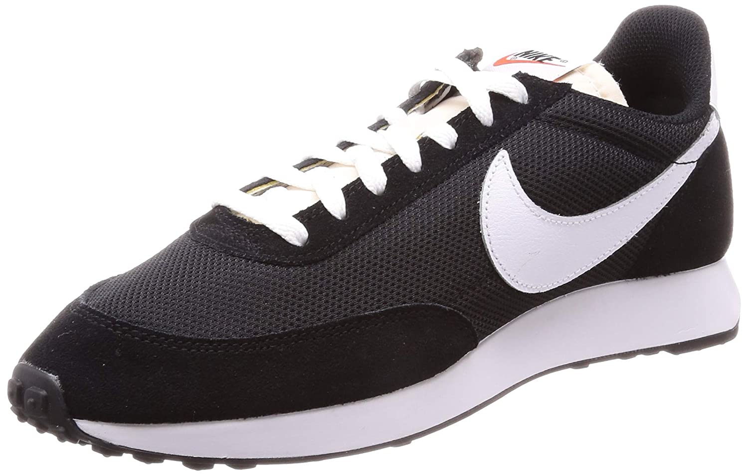 Multicolour (Black White Team orange 009) Nike Men's Air Tailwind 79 Track & Field shoes