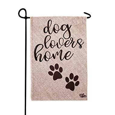Port North Dog Lovers Home Double Sided Outdoor Garden Flag