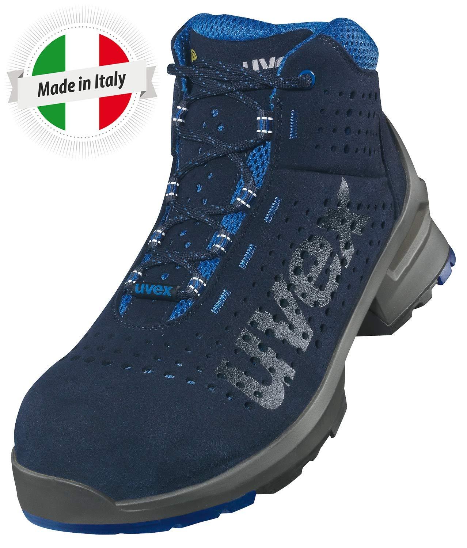 Azul Uvex 1 Bota de Seguridad S1 SRC Zapato Profesional de Trabajo Punta Antiaplastamiento de Composite