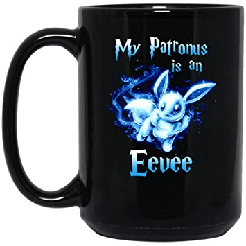 1aaf06fc9 Image Unavailable. Image not available for. Color: My Patronus is an Eevee T -Shirt ...