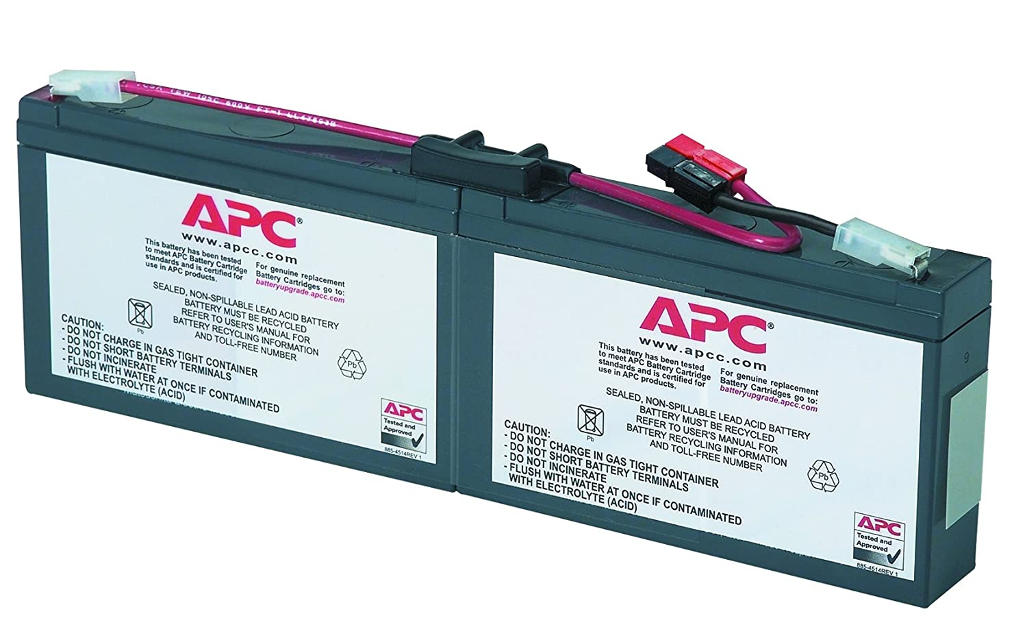 Apc Ups Battery Replacement For Smart Models Wiring Diagram Sc250rm1u Sc450rm1u And Select Others Rbc18 Home Audio Theater