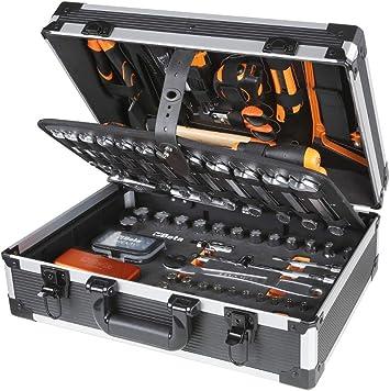 Beta 2056E/I - Maletín con surtido de 146 herramientas para el mantenimiento general de la casa, taller y bricolaje: Amazon.es: Bricolaje y herramientas