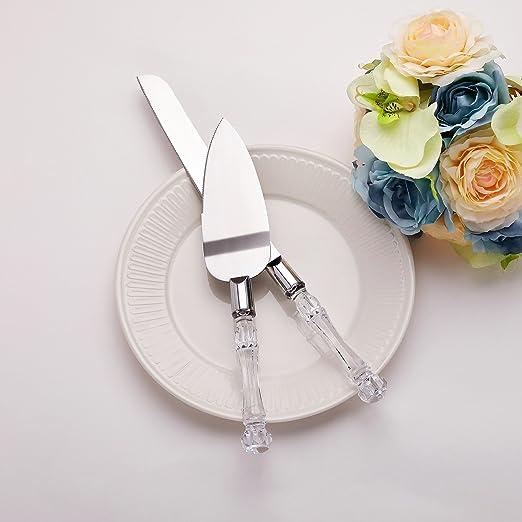 Groovy Amazon Com Aw Bridal Wedding Cake Knife And Server Set 13 Funny Birthday Cards Online Benoljebrpdamsfinfo