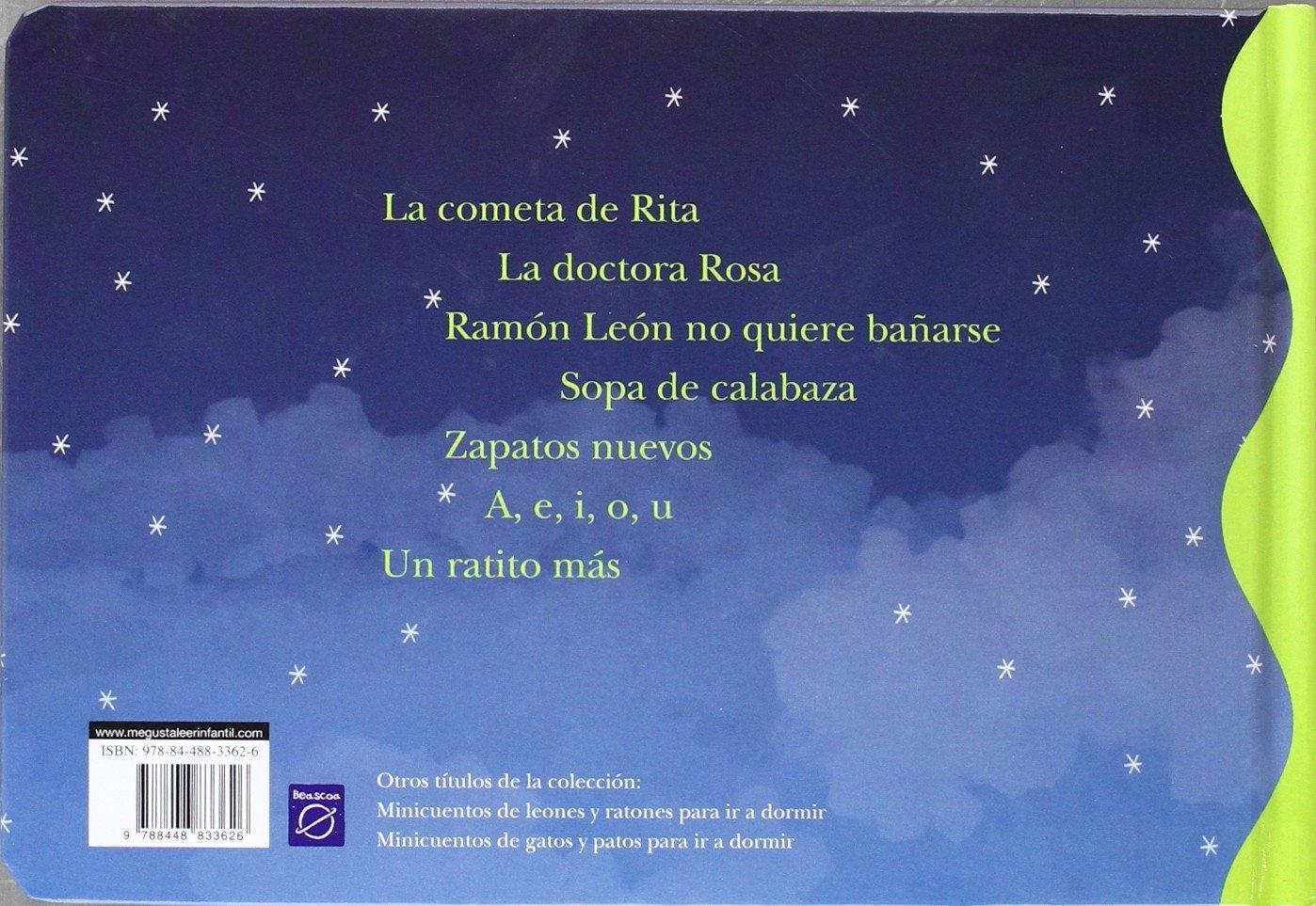 Minicuentos de leones y ratones para ir a dormir / Mini Bedtime Stories of Lions and Mice (Spanish Edition): Magela Ronda, Blanca Bk: 9788448833626: ...