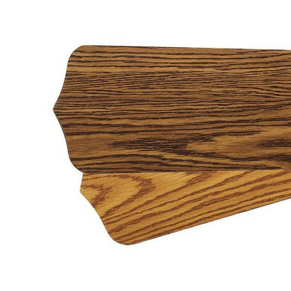 Quorum 5255650111, Five 52'' Reversible Dark Oak / Medium Oak Pointed Type 1 Blades