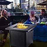 QOMOTOP Propane Gas Outdoor Fire
